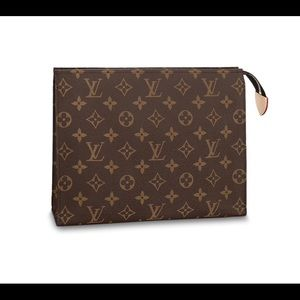 Louise Vuitton TOILETRY POUCH 26